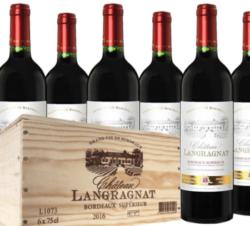Chateau Langranat Bordeaux Superior 6x0.75l 2018 4