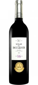 Bodegas Escudero Solar de Becquer CRIANZA Rioja 2016 0
