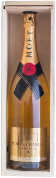 Moët & Chandon Imperial Golden Light Up Brut 3l 12% Dřevěný box
